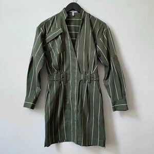 Derek Lam 10 Crosby Utility Wrap Dress
